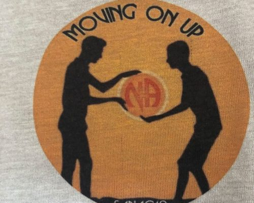 NA-moving-on-up-Tshirt-logo-close-up